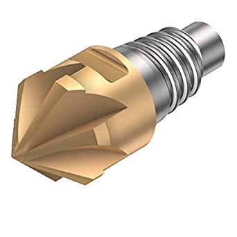 Sandvik Coromant Solid Carbide Indexable Milling Tool, 45 Degree Entering Angle, 8 Flutes