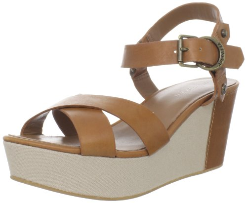 y Platform Sandal,Natural,39 EU/9 M US (Apepazza Leather Sandals)