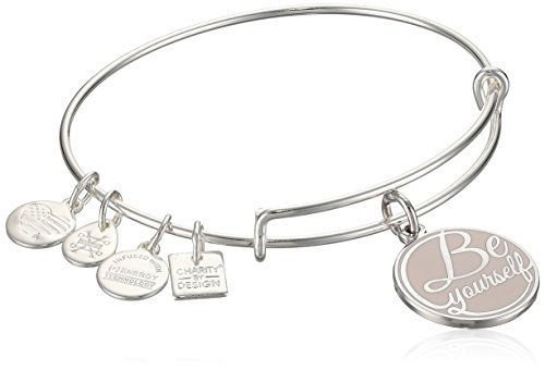 Alex and Ani Charity By Design, Be Yourself EWB, Shiny Silver, Expandable by Alex and Ani