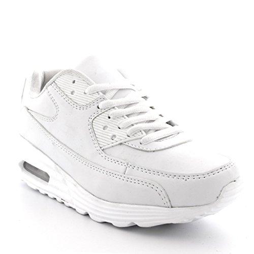 Mens Office Fashion Cool Walking Designer Sport Loopschoenen Sneakers Wit