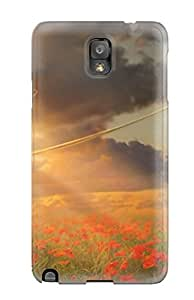 New Style Tpu Note 3 Protective Case Cover/ Galaxy Case - Girl