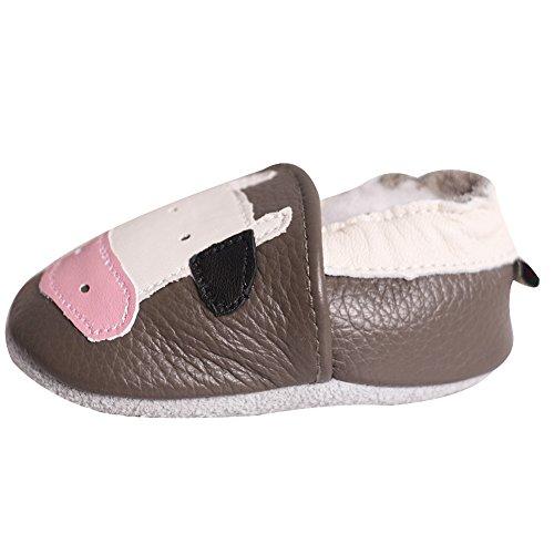 En Garçon Fille Chaussure Pour Souple Mavericks Lserver Enfant C26 Chaussons Cuir Bébé 86qwnSRx5