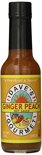 Dave's Gourmet Hot Sauce, Ginger Peach, 5 Ounce