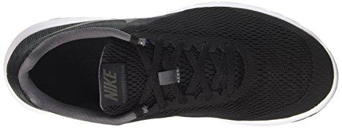 Nike Flex Experience Rn 6, Sneakers para Hombre, Nero / Arancione Negro (Black/black Dark Grey)