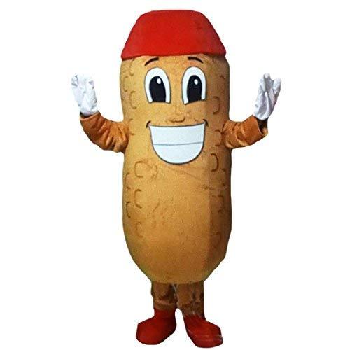 Peanut Mascot Costume Cartoon Character Adult Sz Real -