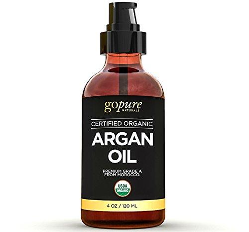 goPURE Naturals Organic Argan Oil - 4 fl oz