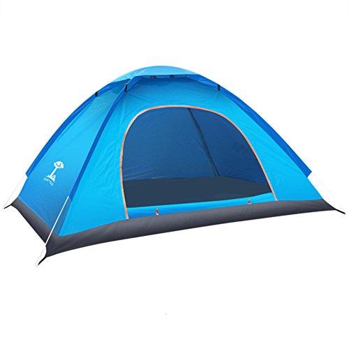 マルコポーロヘルメット呼吸するTY&WJ ドームテント 屋外 2 人 全自動 キャンプテント 設定 屋外 旅行 テント ポータブル折りたたみ 24、仮設テント