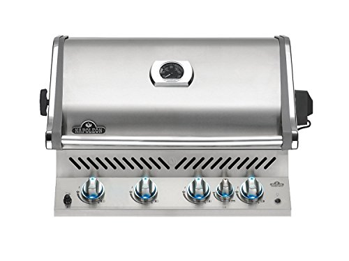 Napoleon Grills Prestige Pro 500 Built In Natural Gas Grill, Stainless Steel