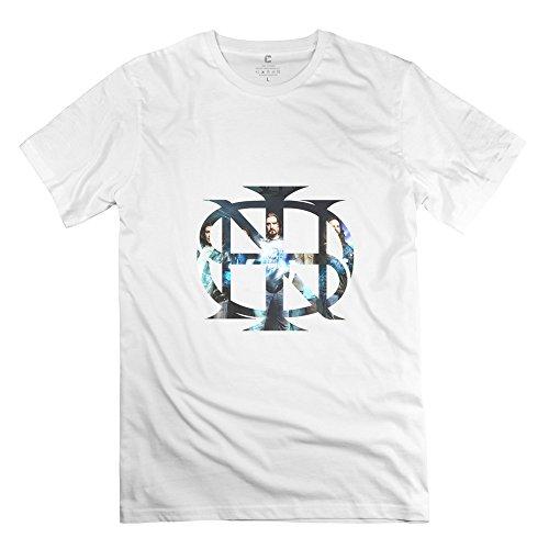 ManrvMtop Men's Dream Theater Progressive Rock T-shirt M