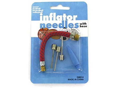 K&A Company Inflator Pump Sports Kit Air Needles Case of 96 by K&A Company