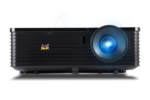 ViewSonic PJD6345 XGA 1024x768 DLP Projector with LAN Contro
