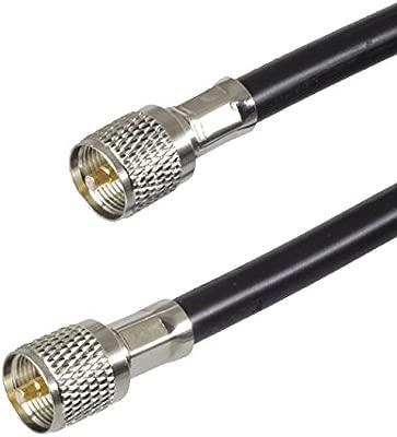 BJC RG-8 tipo antena feedline - -Belden 7810 un con Amphenol PL ...
