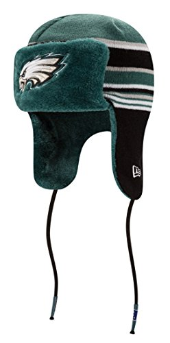 ace1f496bde12 Philadelphia Eagles Fur Lined Knit Hat. Embroidered graphics. Made by New  Era