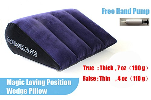 Toughage PF3101 Inflatable Sex Pillow for Couples