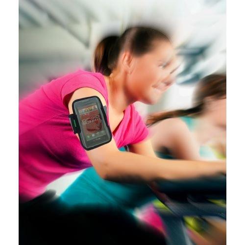 [해외]모토로라 Droid MAXX 2, Turbo 2, Moto M, X Z 용 프리미엄 네오프렌 암밴드 땀 투성이의 내수성 체육관 운동 Reflecti가있는 조깅 스포츠 스트랩/Premium Neoprene Armband for Motorola Droid MAXX 2, Turbo 2, Moto M, X Z Force Sweat   Water R...