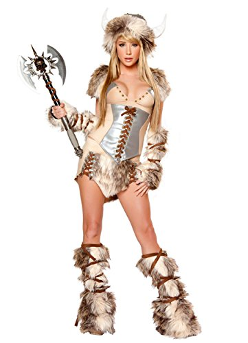 XSHUN Women Viking Pirate Costumes Halloween Praty Cosplay Viking Warrior Costume