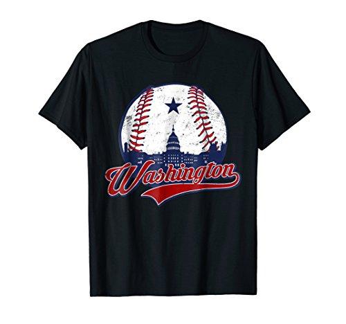 Washington DC Baseball T-shirt National Mall ()