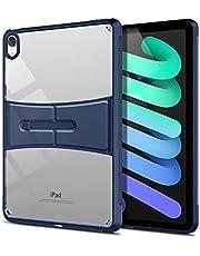 جراب لجهاز iPad mini 6 2021، جراب خلفي شفاف ممتص للصدمات ناعم من مادة TPU لأجهزة iPad Mini 6th Generation (أزرق)