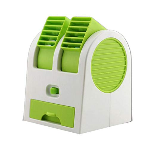 Blackcat Portable Mini USB Air Conditioner Cooler Fan Rechargeable for Outdoor Desktop (Best Hunter Tops Bathroom Exhaust Fans)