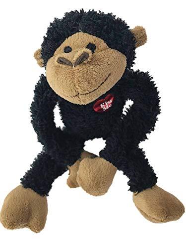 Dan Dee Small Long Armed Black Love Monkey Plush 10