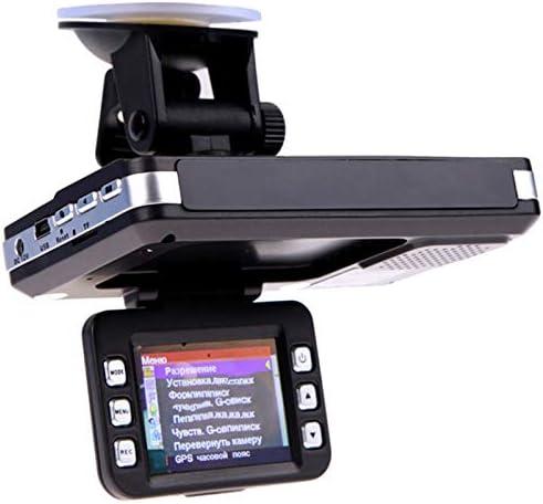 Monland 2 in 1反探知器 自動車のDVR カメラ フロー検出 720P ダッシュカム 自動車探知機 レコーダー ビデオカメラ ロシア語、英語の音声