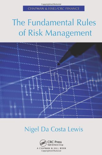The Fundamental Rules of Risk Management (Chapman & Hall/Crc Finance Series)