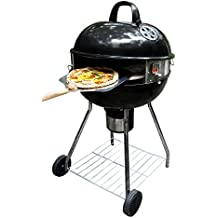 "PizzaQue Deluxe Kettle Grill Pizza Kit for 18"" and 22.5"" Kettle Grills PC7001"