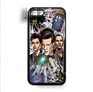 Doctor who tardis space V9.1 iPhone 5C Case - White Case - AArt #0005