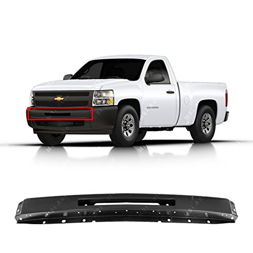 MBI AUTO - Primered, Steel Front Bumper Face Bar for 2007-2013 Chevy Silverado 1500 & 07-10 2500/3500 Pickup, ()