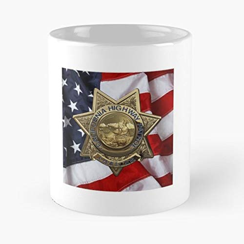 - Law Enforcement Insignia Heraldry Collection By Serge Averbukh Police Art - 11 Oz White -coffee Mug- Unique Birthday Gift-the Best Gift For Holidays.