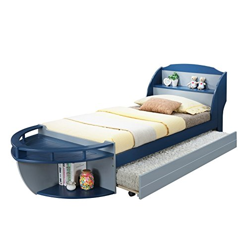 Boat Shaped Trundle Bed