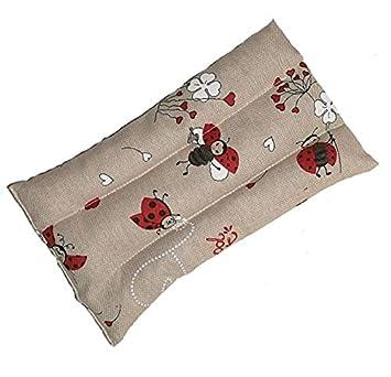 Cojín con semillas de lino pañuelo para dolor abdominal, Mal ...