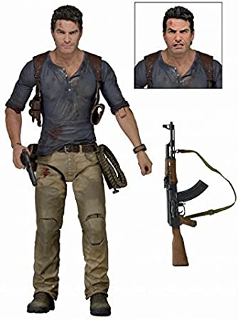 Uncharted 4 A Thiefs End Nathan Drake Ultimate 7 Inch Action FigureNeca by Uncharted: Amazon.es: Juguetes y juegos