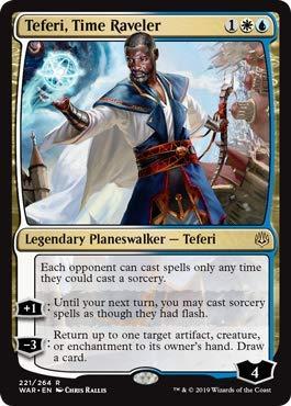 Magic: The Gathering - Teferi, Time Raveler - War of The Spark