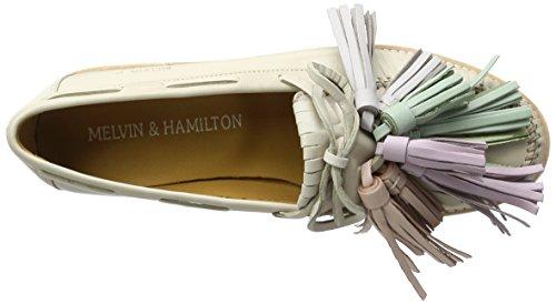 4 salerno White tassle Multi amp; Melvin New Malden Hamilton Donna Beige Bea Mocassini Sand 04tStwq