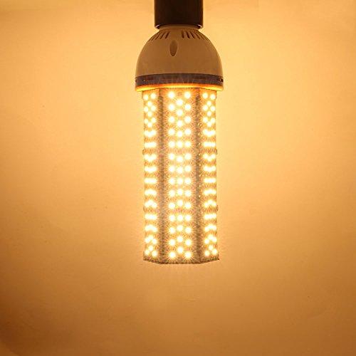 Price comparison product image eSaveBulb 60W LED Corn Light, E40 / E39 Led Light Bulbs, Indoor Outdoor Street Lighting Lamps, 3000K Warm White