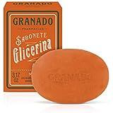 Sabonete Vegetal de Glicerina Amêndoa, Granado, Vermelho Claro, 90g