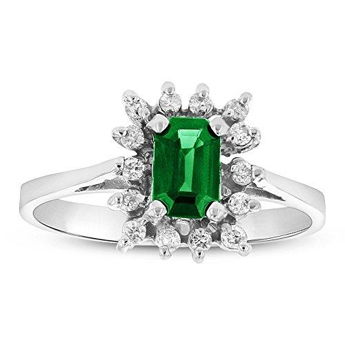 0.70 Ct Emerald Cut Diamond - 2
