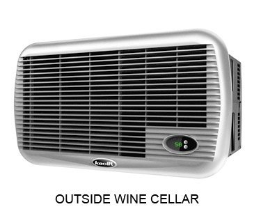 Koolspace koolR PLUS Wine Cellar Cooling Unit - 600 Cu. Ft.