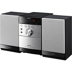 Sony CMT-EH15 Micro HI-FI Stereo Music System with CD /AM-FM Tuner / Cassette / MP3 CD Playback & Remote Control.
