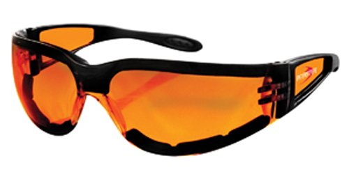 Bobster Lens - Bobster Shield 2 Sunglasses, Black Frame/Amber Lens