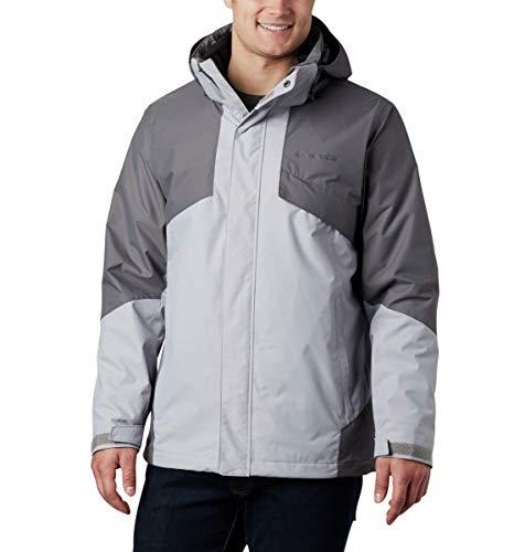 Columbia Men's Bugaboo Ii Fleece Interchange Jacket, Columbia Grey/City Grey, 3X