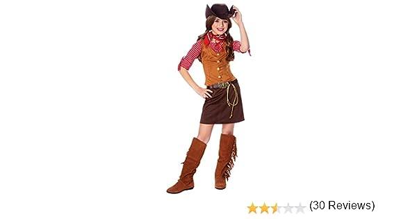 Disfraz Cultura por Franco LLC Niñas Gun Slinger Disfraz: Amazon ...