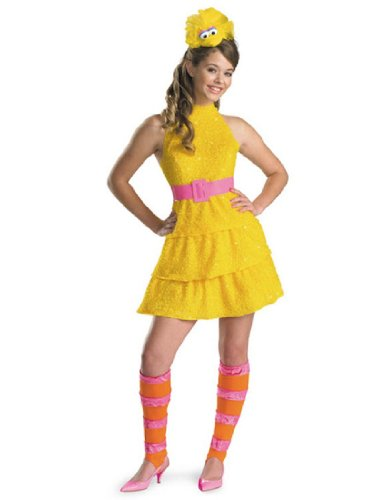 [Big Bird Costume - Large] (Bird Costumes Women)