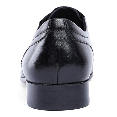 Atmosfera Scarpe Appuntito Black Europea Traforato Stringate Modello NIUMT Affari Versione Moda nR4xqC0g1w