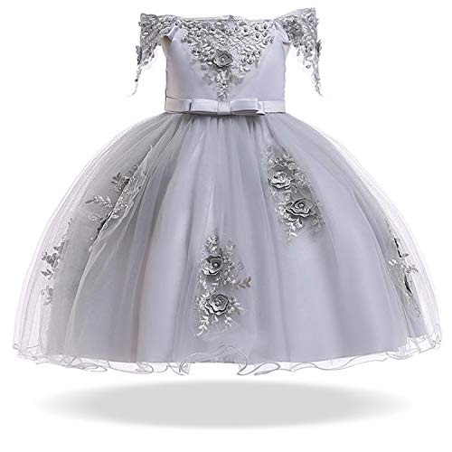 2019 Spring Girls Dress Infant Party Wedding Dress