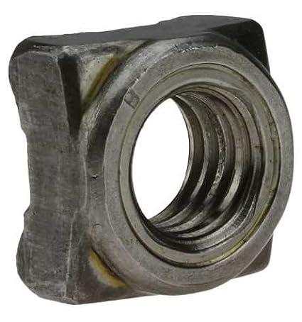 Reidl Vierkant-Schweiß muttern M 8 DIN 928 Stahl blank 100 Stü ck