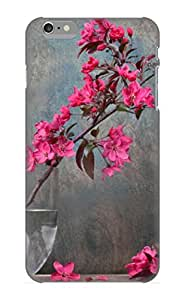 TYH - Ellent Iphone 6 4.7 Case Tpu Cover Back Skin Protector Fleur For Lovers phone case