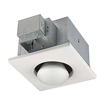 Broan 161 Infrared Single-Bulb Ceiling Heater, 250-Watt