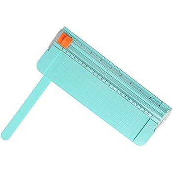 Work4U 9 Inch Paper Trimmer, A5 Portable Scrapbooking Trimmer, Green